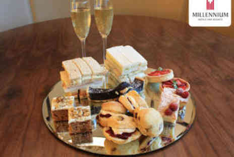 The Copthorne Hotel - Afternoon Tea with Prosecco for Two - Save 52%
