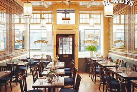 Rowleys Restaurant - Chateaubriand and Unlimited Fries for Two - Save 43%