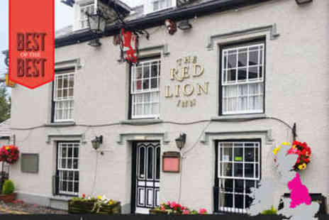 The Red Lion Inn - One, Two or Three nights stay for two in Lake District - Save 53%