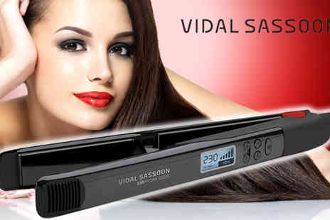 T.L.X Electrical - Vidal Sassoon Hydra Gloss Frizz Control Hair Straightener - Save 38%