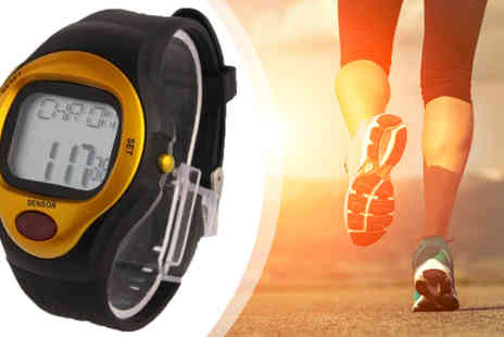 Euro Field - Heart Rate Monitor and Calorie Counter Watch - Save 62%