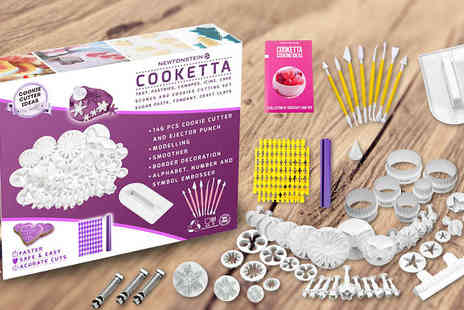 Newtonstein Corp - Cooketta 157-Piece Cake Decorating Set - Save 16%