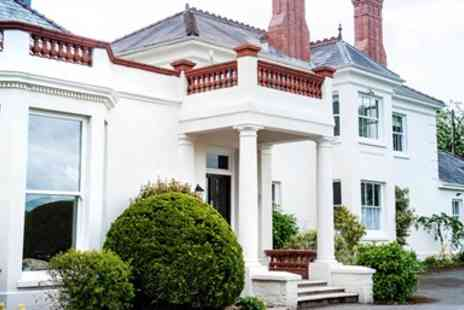 Mansion House Llansteffan - Overnight Welsh Coastal Stay with Meals - Save 39%