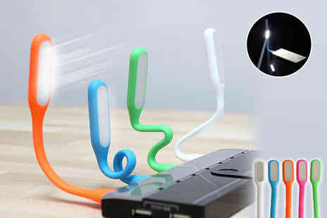 Toys Wizard - Funky USB flexible light   - Save 44%