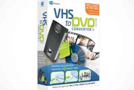 LivingSocial Shop   - VHS to DVD Converter V2 - Save 51%