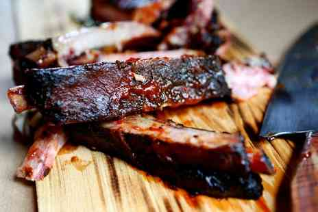 Roebuck Inn - Ribs and Burger Meal With Beer For Two - Save 54%