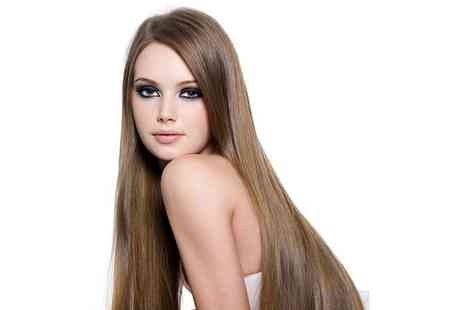 Ooh La Lah Salon - Full Head of Human Hair Extensions With Optional One Hour of Maintenance Return Treatment  - Save 62%