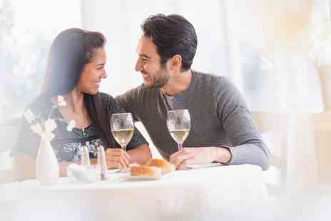Hilton Basingstoke Hotel - Non Accommodation Valentines Day Three Course Dinner and a Glass of Bubbly for Two - Save 0%