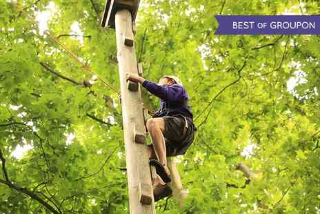 Live For Today Adventures - High Ropes Course For One  - Save 43%