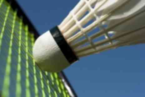 Badminton Coaching - Three group badminton lessons for you and friends - Save 50%
