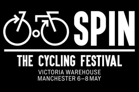 Spin - Cycling Festival, on 6 or 8 May  - Save 50%