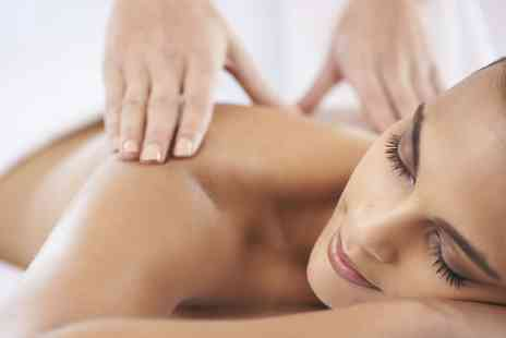 Polished Hair & Beauty - Choice of Massage with Optional Mini Facial   - Save 45%