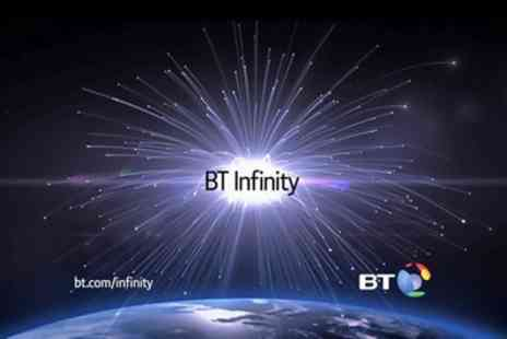 BT Infinity - Half Price Unlimited BT Infinity Broadband for 12 Months Plus prepaid card - Save 0%