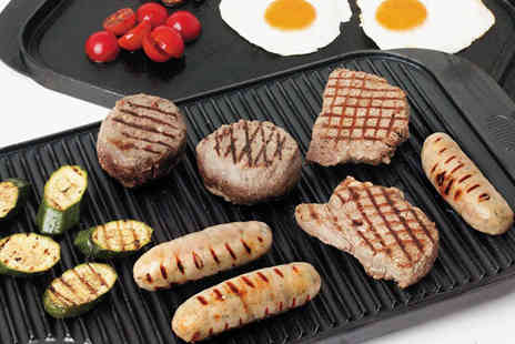 Direct Response Marketing - 49cm Double Sided Griddle & Hot Plate - Save 53%