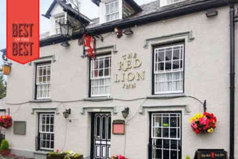 The Red Lion Inn Hawkshead -  Two or Three Night Stay For Two With Breakfast Daily - Save 53%
