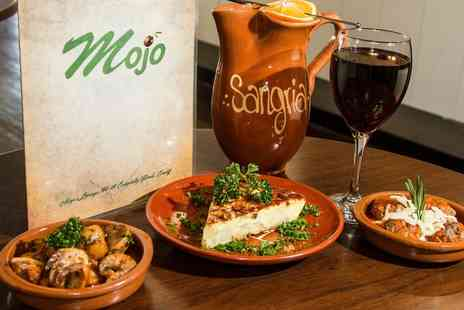 Mojo Lounge - Tapas and Wine for Up to Six   - Save 46%