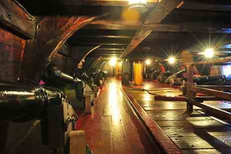 The Golden Hinde Trust - The Golden Hinde II  Tour for One  - Save 40%