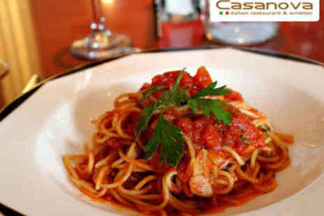 Casanova Ristorante - Two Course Italian Lunch for Two - Save 56%