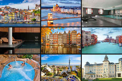 Jetline Travel - Two night mystery European spa break with return flights - Save 44%