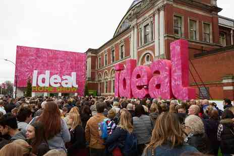 The Ideal Home Show - Ideal Home Show Two Tickets plus Magazine - Save 59%