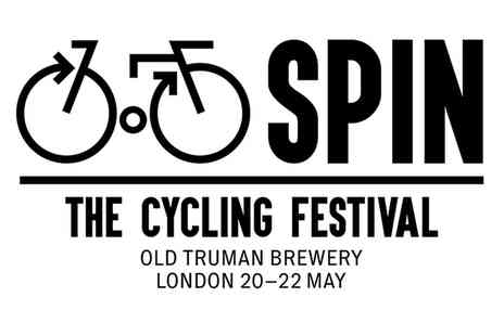 Spin - Entry to Spin The Cycling Festival  on 20 or 22 May - Save 50%