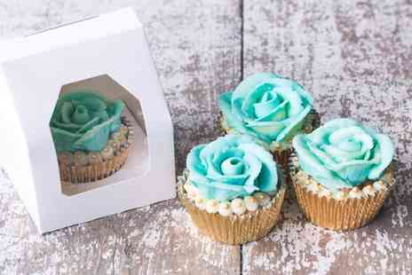 Nadia Rae Afternoon Tea - Cupcake Decorating Masterclass for One  - Save 51%