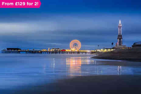 The Fossil Tree Hotel - Two nights Blackpool B&B Break for Two - Save 0%