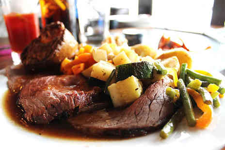 The Ship Inn - Sunday carvery lunch for two including a glass of wine each  - Save 37%