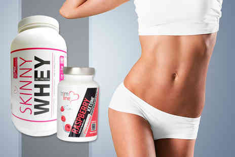 ProMuscle Products - One month supply of Skinny Whey protein and raspberry ketone   - Save 75%