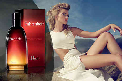 Wowcher Direct - 50ml bottle of Dior Fahrenheit for men eau de toilette - Save 39%