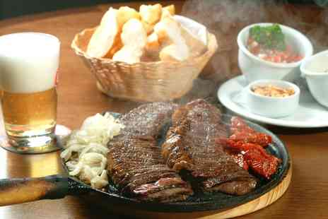 The Mash Tun - 7oz Flat Iron Steak Meal and Wine for Two or Four - Save 0%