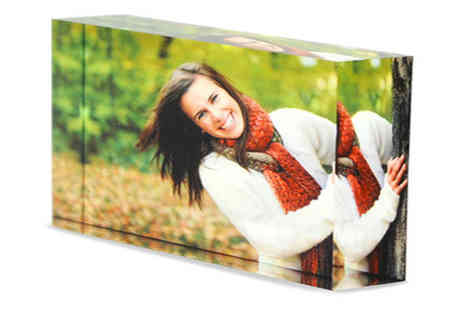 NEoffers  - Acrylic Photo Block - Save 50%