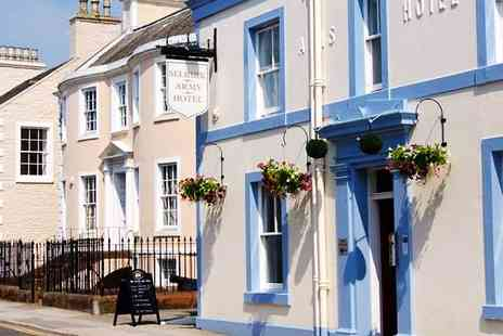 The Selkirk Arms Hotel - Two nights  Scottish Harbour Town Stay with Breakfast - Save 51%