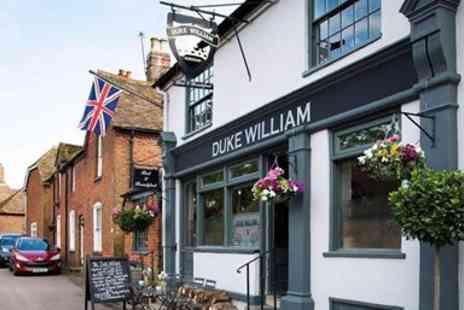 The Duke of William - Three Course Meal & Bubbly for two - Save 49%