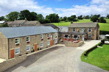 The Black Swan - Oneor Two Nights North Yorkshire break for two including dinner, breakfast and a brewery tour  - Save 49%