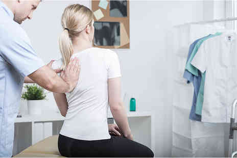 Imperial Health - Chiropractic examination package, results and Postural analysis and two massage treatments - Save 82%