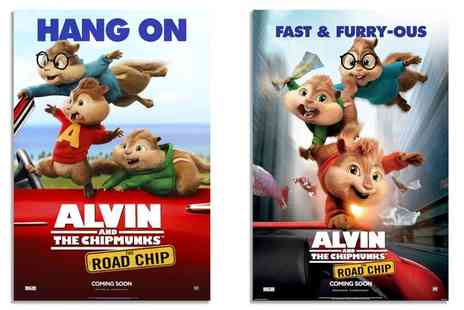 Malvern Theatres - Entry to Alvin and the Chipmunks  - Save 40%