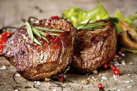 Aberdeen Steak House - Steak with Champagne for Two or Four - Save 58%
