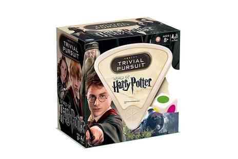 Groupon Goods Global GmbH - Trivial Pursuit  World of Harry Potter  - Save 47%