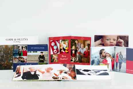 Photobook - Personalised Layflat Hardcover Photobook - Save 92%