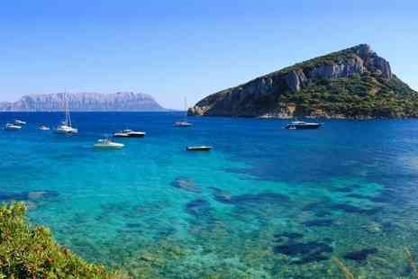 Sardinia Round Trip - Ultimate sunny Sardinia road trip for Seven Nights stay with flights, car rental & hotels - Save 0%