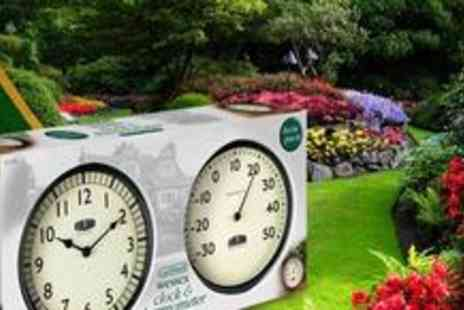 Gardman Ltd - Wessex Clock and Thermometer twin pack - Save 50%