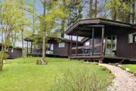 Altamount Chalets - Three night Scottish luxury log cabin getawayfor four people in Perthshire - Save 54%