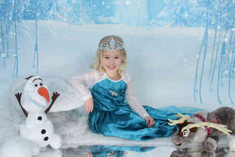 "Ice Princess Photos - Kids Frozen inspired ice princess photoshoot and a 10"" x 8"" print   - Save 0%"