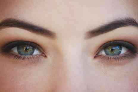 Aziz Salon - HD Brows or Cluster Eyelash Extensions or Both - Save 0%