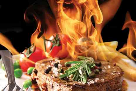 Top Grill - Two Course Meal and Side for Up to Six - Save 53%