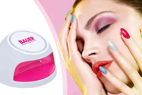Urshu - UV Nail Dryer for Gel Nail Polish - Save 45%