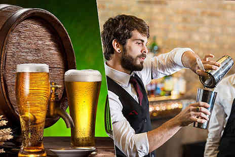 vizualcoaching - Beer Brewing and Bartending Courses - Save 97%