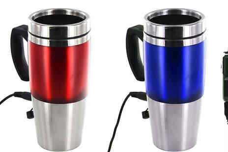 Shop Monk - USB Travel Mug 450ml Capacity - Save 65%