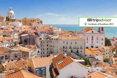 Neya Lisboa Hotel - One, Two or Three nights Lisbon break including breakfast - Save 68%
